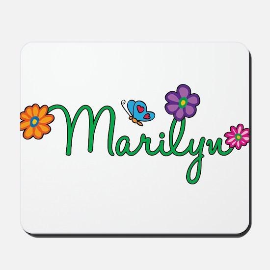 Marilyn Flowers Mousepad