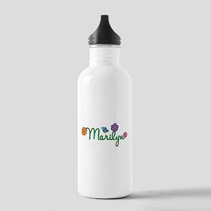 Marilyn Flowers Stainless Water Bottle 1.0L