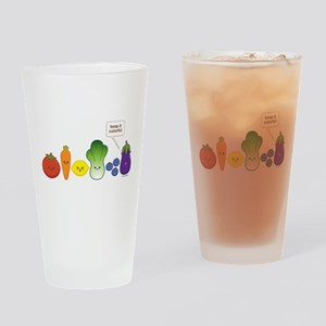 Keep It Colorful Drinking Glass