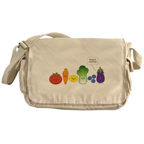 Keep It Colorful Messenger Bag