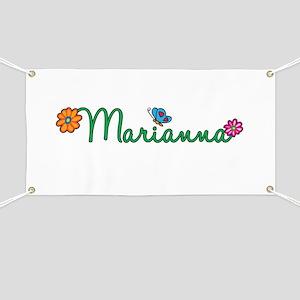 Marianna Flowers Banner