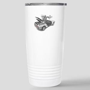 Delorean Stainless Steel Travel Mug