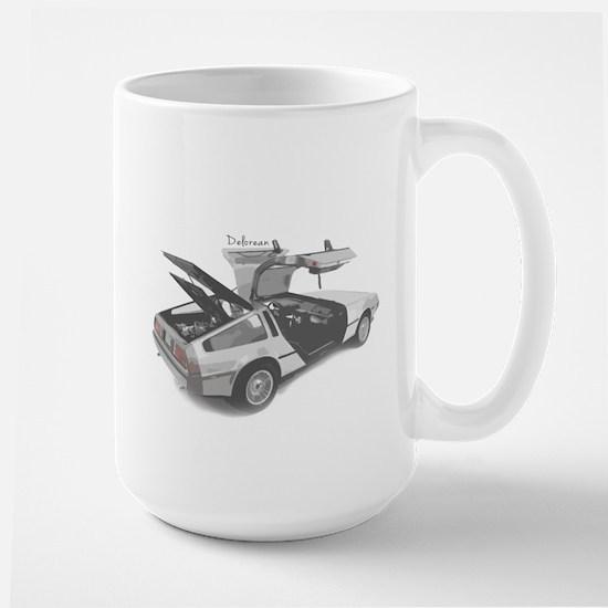 Delorean Large Mug