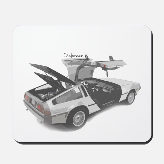 Delorean Mousepad