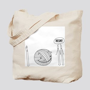 Threesome Tote Bag