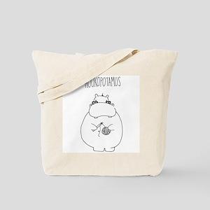 Hookopotamus Tote Bag