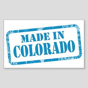 MADE IN COLORADO Sticker (Rectangle)