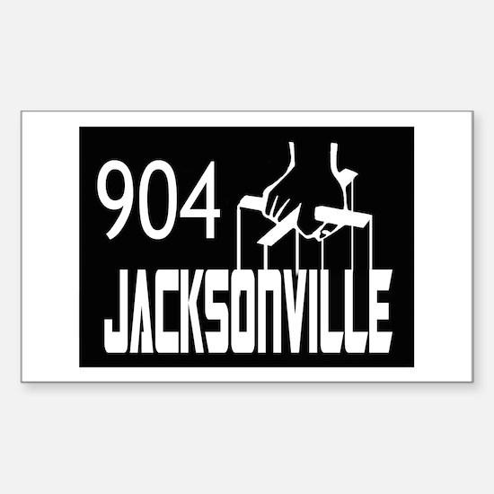 Jacksonville -- T-Shirt Sticker (Rectangle)