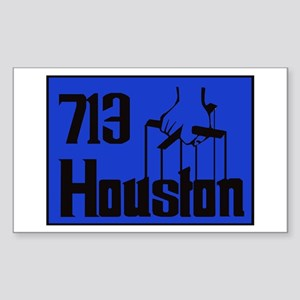 Houston,Tx -- T-Shirt Sticker (Rectangle)