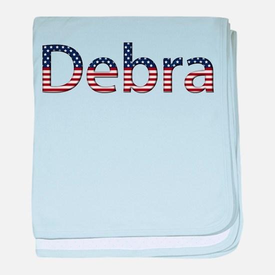 Debra Stars and Stripes baby blanket