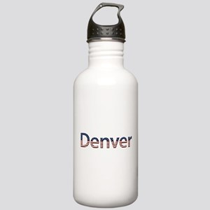 Denver Stars and Stripes Stainless Water Bottle 1.