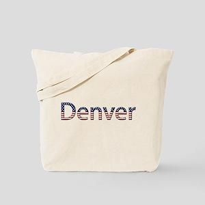 Denver Stars and Stripes Tote Bag