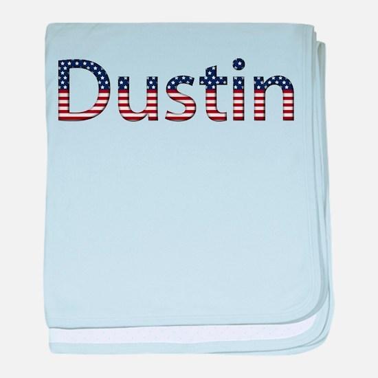 Dustin Stars and Stripes baby blanket