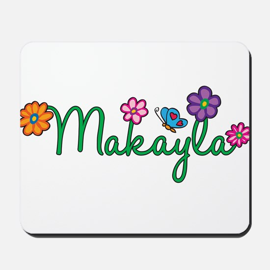 Makayla Flowers Mousepad