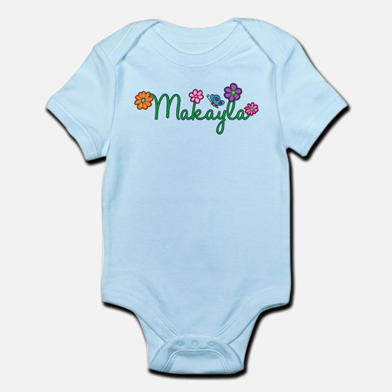Makayla Flowers Infant Bodysuit