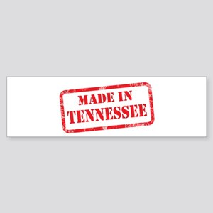 MADE IN TENNESSEE Sticker (Bumper)
