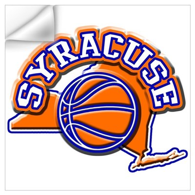 Syracuse Basketball Wall Decal