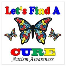 Let's Find A CURE Poster