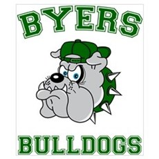 Byers Bulldogs Poster