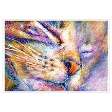 Sleeper Cat Poster