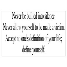Define Yourself Poster