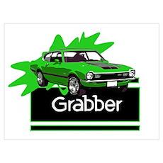 Grabber Green Maverick Poster