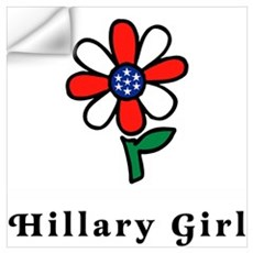Hillary Girl Wall Decal