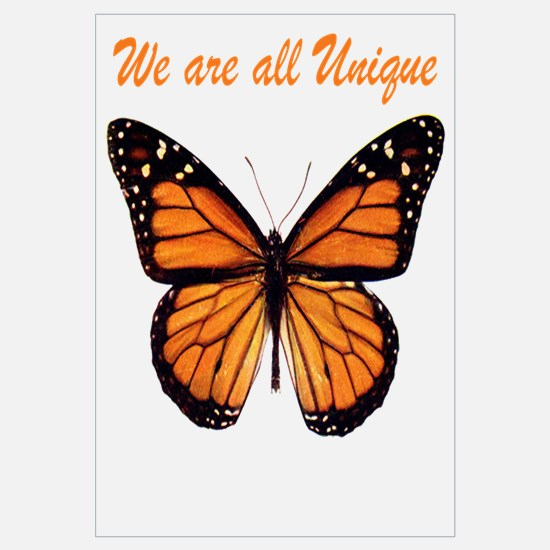 We Are All Unique: Butterfly