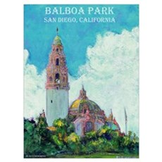 Balboa Park Canvas Art