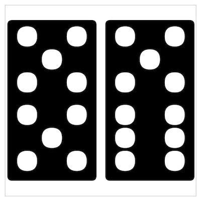 21 Dominoes Poster