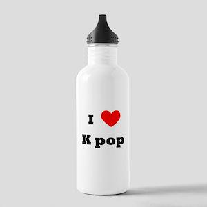 I love K-POP Stainless Water Bottle 1.0L
