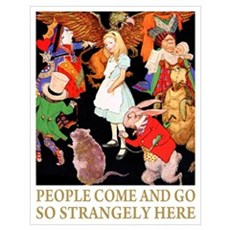 PEOPLE COME & GO Poster