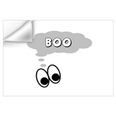Ghost Eyes Boo Wall Decal