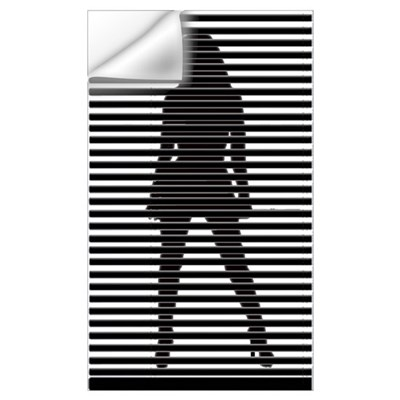 Dominatrix Silhouette Wall Decal