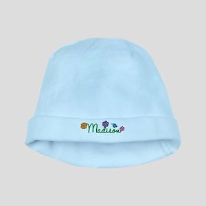 Madison Flowers baby hat