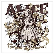 Alice In Wonderland Carnivale Poster