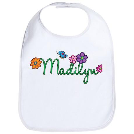 Madilyn Flowers Bib