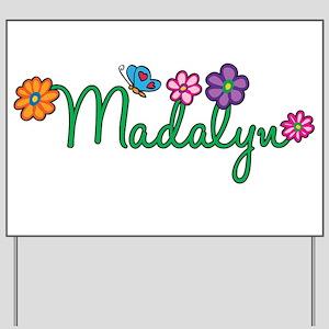 Madalyn Flowers Yard Sign