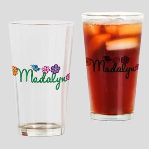 Madalyn Flowers Drinking Glass