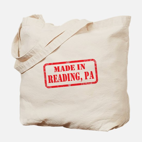 MADE IN READING, PA Tote Bag