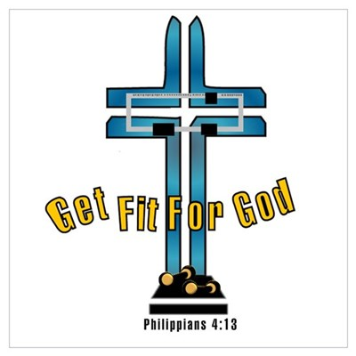 Get Fit For God Canvas Art