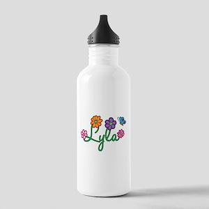 Lyla Flowers Stainless Water Bottle 1.0L