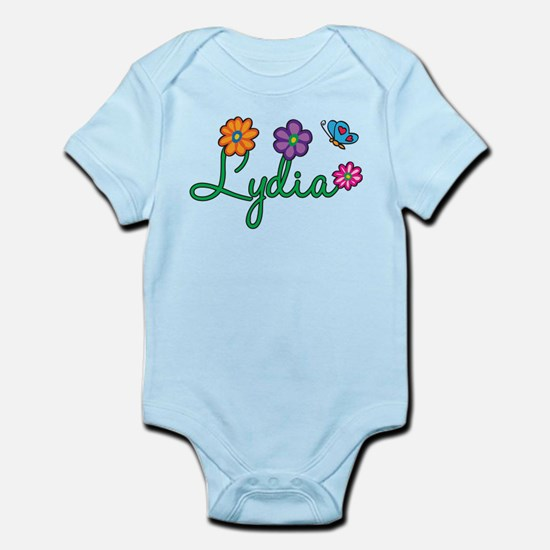 Lydia Flowers Infant Bodysuit