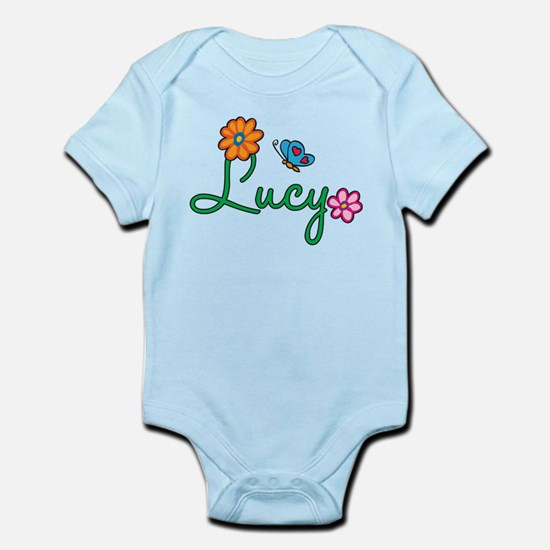 Lucy Flowers Infant Bodysuit