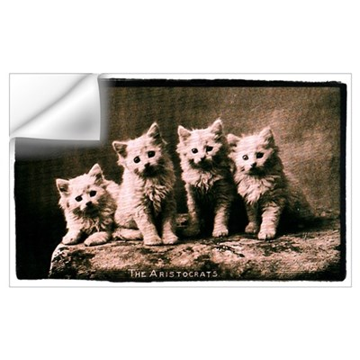 The Aristocrats Vintage Kitte Wall Decal