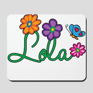 Lola Flowers Mousepad