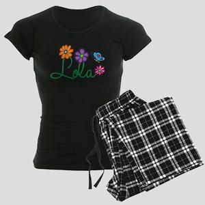 Lola Flowers Women's Dark Pajamas