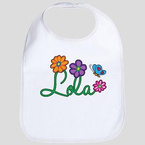 Lola Flowers Bib