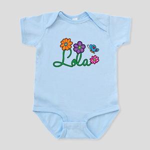 Lola Flowers Infant Bodysuit