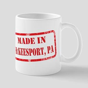 MADE IN MCKEESPORT, PA Mug